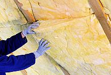 Dachdämmung mit Dämmwolle